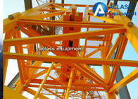 China Construction Site Inner Climbing Tower Crane Lifting Capacity 6 Tons QTZ63 Model factory