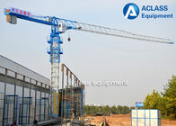 China 4 Ton Topless Tower Crane For Real Estate Construction Lifting Equipment factory