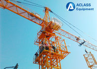 China Outer Climbing 6 Ton Traveling Tower Crane Building Construction Safety Equipment factory