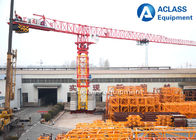 China Horizontal Jib Frame 16t Topless Tower Crane With 2*2*3m Mast Section factory