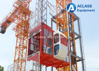 China 4000kg Rack and Pinion Construction Hoist Elevator for Materials / Passengers factory