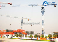 China 10 Tons Split Mast Topless Building Tower Cranes With Inverter Control System factory