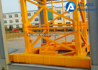 Inner Climbing Self Erecting Tower Crane 8t 55m Jib Heavy Construction Equipment