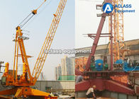 Low Noise Load Lifting Building Materials Derrick Crane 8 Tons With Fixed Base