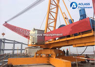 Construction Derrick Tower Crane 10 Tons Capacity With Inverter Controlling