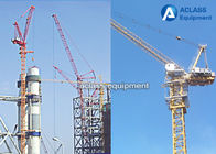 China Small Luffing Jib Building Tower Cranes  With Overlapping Slewing Areas factory