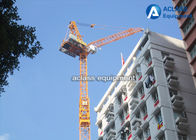 China 60 m Luffing Jib Tower Crane Boom Length 16 Tons For Civil Real Estate factory