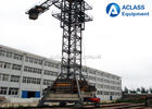 China Hydraulic Self - Climbing 60m Jib Mobile Tower Crane , Topkit Tower Crane factory