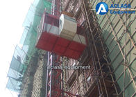 China 2 TonsTransmission Mechanism Building Material Lift For Construction 33 m/min factory
