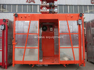 China One Cage Construction Hoist Elevator , Construction Materials List Equipment factory