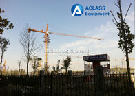 China Fixed types of Small Tower Crane qtz 25 for lower buildings construction factory