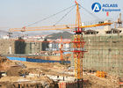 China Electric Construction Tower Crane 56m JIB QTZ80 Fixed And Out Climbing Type factory
