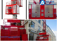 China SC Series Construction Hoist Elevator Red Electric For Residential Building factory