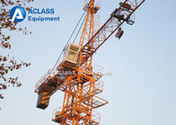 China 10 ton Topkit Tower Crane QTZ Serise Lifting Equipment with 2*2*3m Mast factory