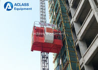 China Double Cages Construction Hoist Elevator 4 ton Lift Equipment with Safety Device factory