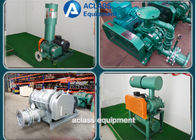 Green Dresser Roots Rotary Lobe Blower For Electroplate Tank And Pneumativ Conveying