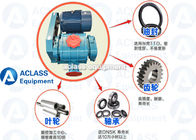 China 250 Biogas Compressor Booster Roots Rotary Lobe Blower ISO Lobe Type Blower factory