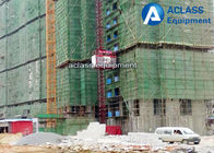 China 1.0 Tons Construction Material Hoist With Low Speed 0-40m/Min factory