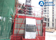 China 1.5t Building Construction Elevator Outside Projects 50m-250m Height factory