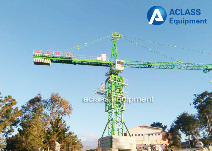 Tower Crane Parts Name : Ton m jib fixed tower crane with spare parts