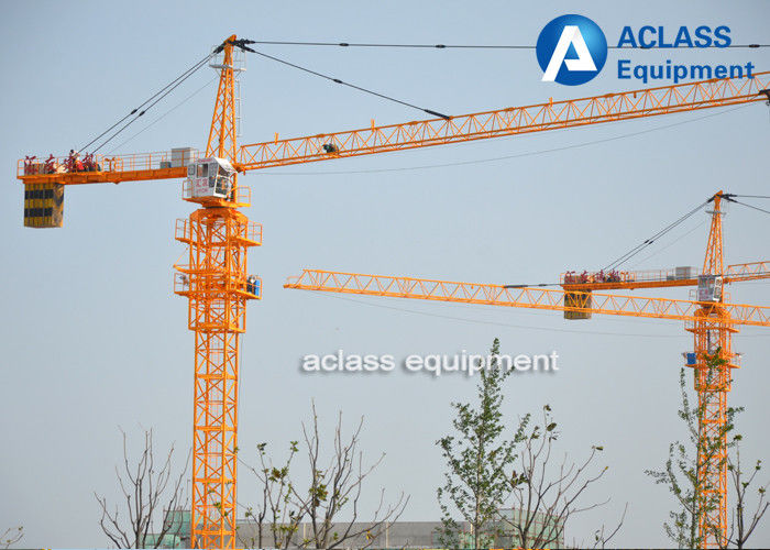 5 Ton Cat Head Tower Crane with Wire Rope / Hydraulic Cylinder ...