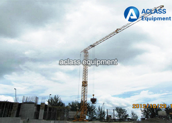 Tower crane self assembly : Mobile lifting equipment fast self assembling tower crane