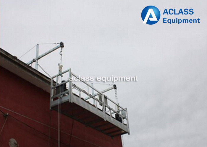 Hanging Scaffold Systems 630kg 6m Construction Suspended Wire Rope ...