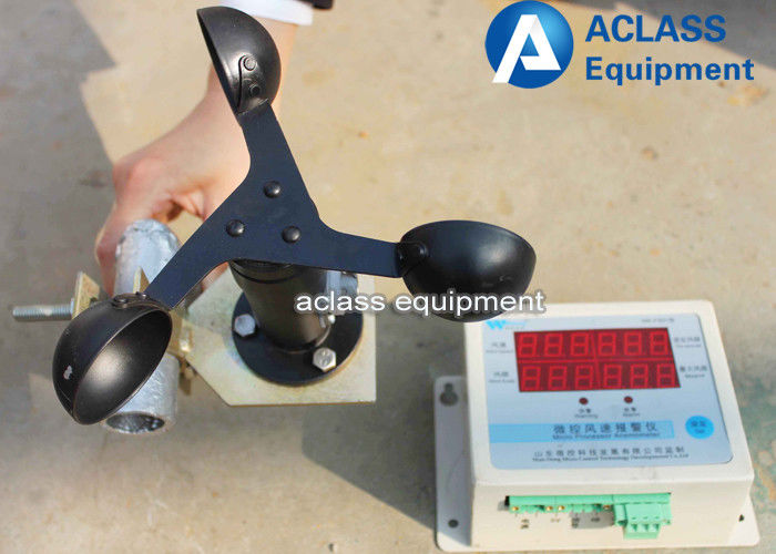 Wind Speed Indicator For Cranes : Wind speed sensor switch anemometer industrial machinery