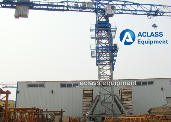 China Professional 10 Ton Mobile Tower Crane With Air Conditioner / Cabin distributor