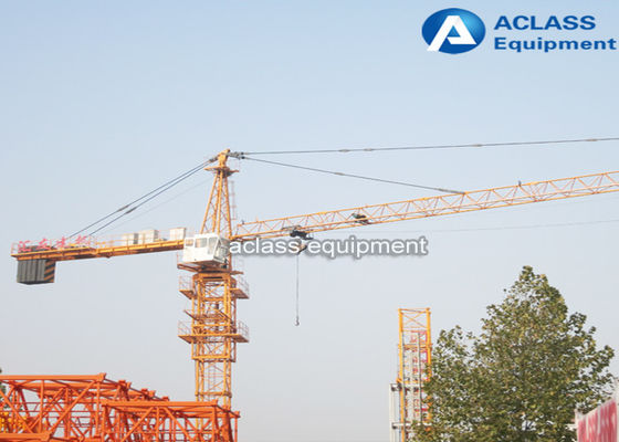China 35m Small Hammerhead Tower Crane 2.5t Max Load Free Standing Height 25m factory