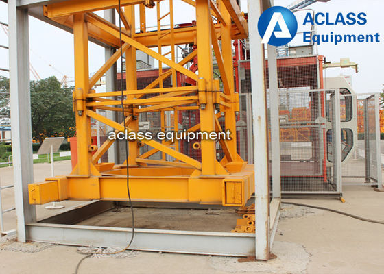 China 60m Jib Internal Climbing Tower Crane 8 Ton QTZ6010 for Building Construction factory