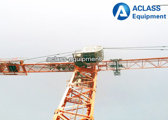 China Adjustable Load Capacity Inner Climbing Hammerhead Tower Crane 6 ton factory