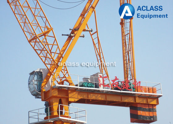 China Split Mast Section Luffing Jib Tower Crane Construction Heavy Equipment distributor