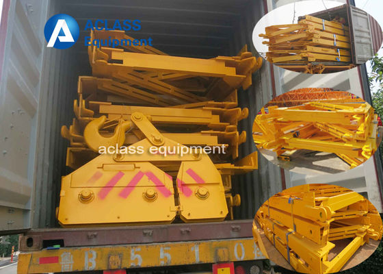 China Topkit Tower Crane 2*2*3m Split Type Mast Section For Heavy Construction Equipment distributor