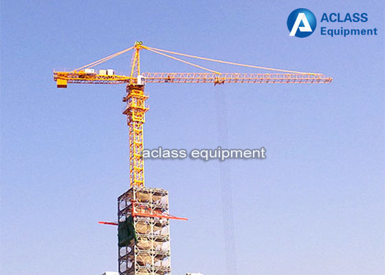 China Fast Erecting Internal Climbing Building Tower Crane For Lifting Heavy Equipment distributor