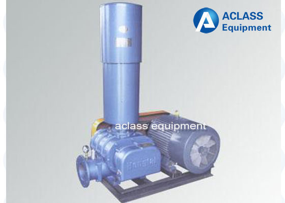 China Three Lobes Roots Blowers ZHSR 50 Model For Waste Water Treatment distributor