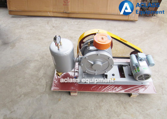 China 380v / 50hz Roots Rotary Lobe Blower For Sewage Settlement Special Gas distributor