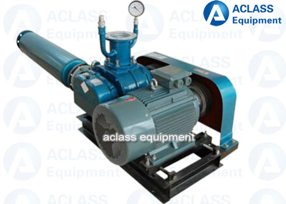 China Electric Rotary Roots Blower Vacuum Pump Used In Air Transporters distributor