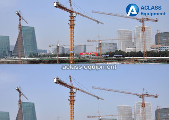 China QTZ40 4 Tons Load Internal Climbing Tower Crane Of Inner Erecting Type factory