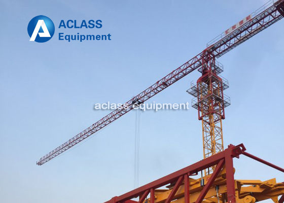 China PT7532 Frequency Tower Crane 18 Ton Lifting Capacity Construction Hoist Crane distributor