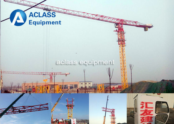 China Schneider Topless Electric Tower Crane For Construction Building distributor