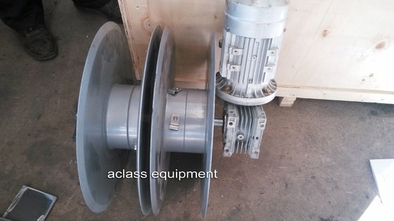 China Wire Rope Winder ZLP Suspended Platform Tensioners Device Of Wire distributor