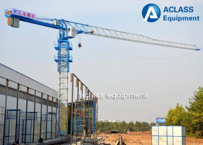 4 ton Free - Standing Stationary Topless Tower Crane Lift Machine For Construction