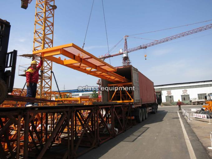 Safety Mini 3t Fixed Tower Crane For Building Construction Equipments