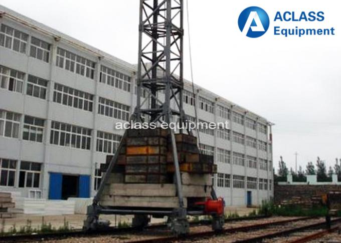 Professional 10 Ton Mobile Tower Crane With Air Conditioner / Cabin