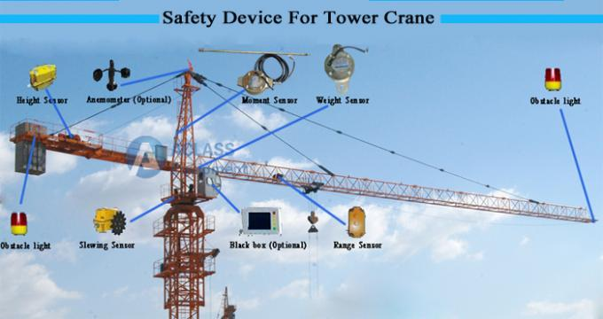 Cu Tr Certificate Hammer Head Model Tower Crane With