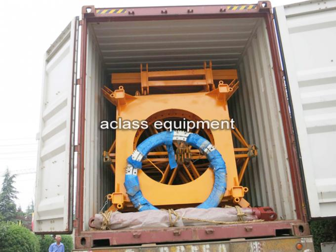Larger Capacity 5 Tons Cat Head Tower Crane For Civil Construction Projects