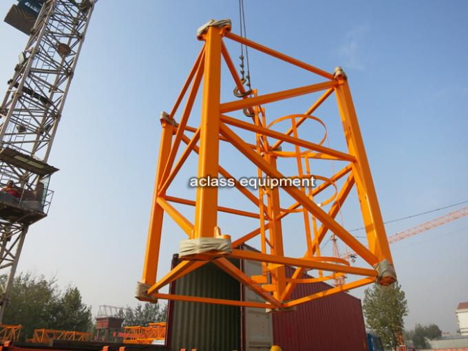 Strong Torsional Strength 55m Jib Topless Tower Crane Heavy Equipment