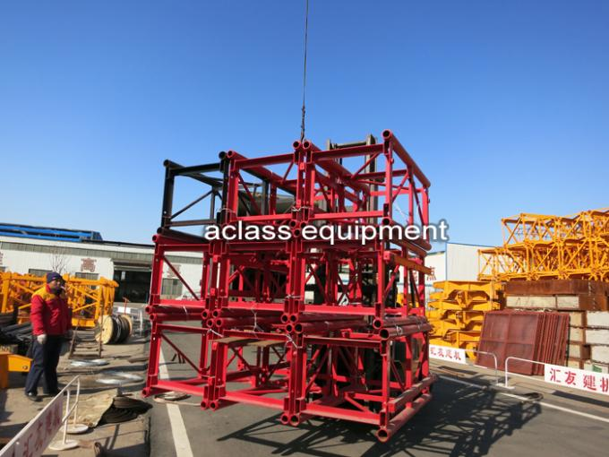 1 ton Single Cage Construction Hoist Elevator with 3 Phase Motor for Building / Tower