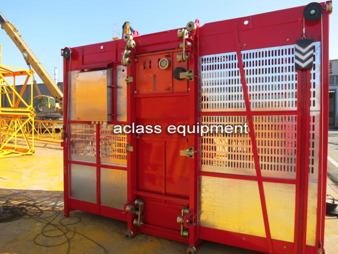 4 Ton Construction Hoist Elevator , Building Construction Materials List for Chimney